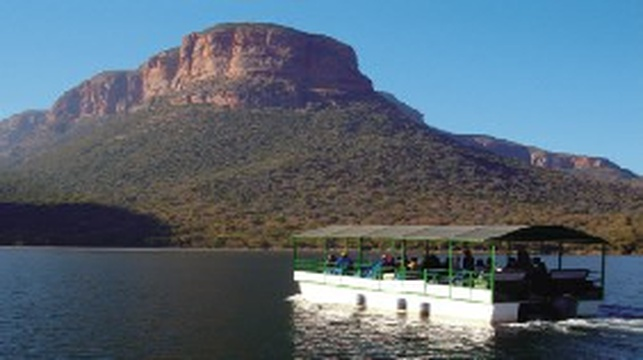 Boat Cruise - Blyde Dam (distance from Lodge: 109km)    https://www.tours-tickets.co.za/on_the_water.html