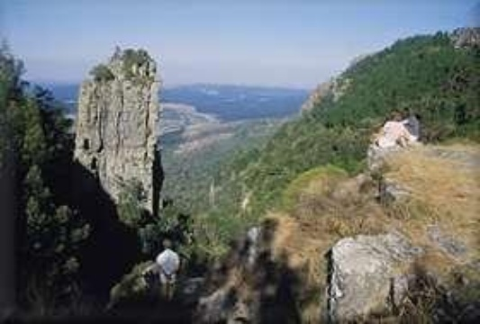 The pinnacle  (distance from Lodge: 3.7km)
